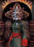 allmän militär steampunk Arkivfoto