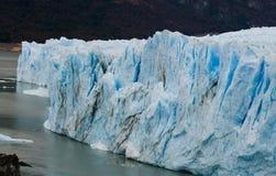 Allmän sikt av Peritoen Moreno Glacier arenaceous Landskap Royaltyfria Foton