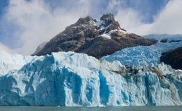 Allmän sikt av Peritoen Moreno Glacier arenaceous Landskap Royaltyfri Bild