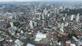 Allmän sikt av staden av Panama Royaltyfri Bild