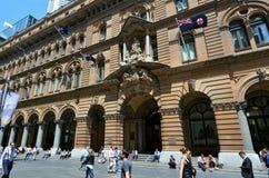 Allmän stolpe - kontorsbyggnad Sydney New South Wales Australia Royaltyfri Foto