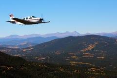 Allmänt flyg - Beechcraft guldgruva Fotografering för Bildbyråer