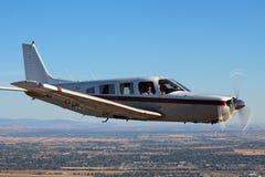 Allmänt flyg - Piper Saratoga Aircraft Arkivfoton