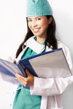 allmäntjänstgörande läkareläkarundersökning royaltyfri fotografi