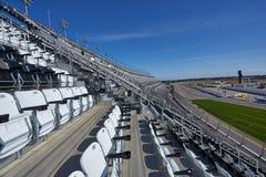 Allocation des places au-dessus de speed-way d'International de Daytona photo stock