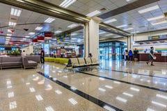 Allocation des places d'aéroport de Songshan et secteur d'enregistrement Image stock