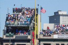 Allocation des places de dessus de toit de Chicago Cubs Photo libre de droits