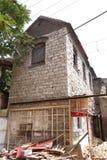 alloggi che sta demolendo Fotografie Stock Libere da Diritti