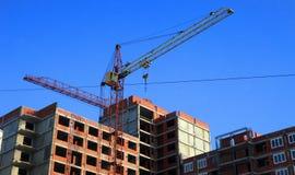 Alloggi in costruzione Immagine Stock Libera da Diritti