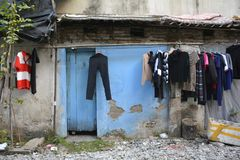 Alloggi a Hanoi 1 Fotografia Stock