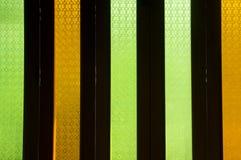 Alloggi il concetto duro colorato della mobilia del laccquer di legno di vetro Immagini Stock