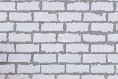 Alloggi il fondo textued parete dai blocchi in calcestruzzo aerati sterilizzati nell'autoclave Immagine Stock Libera da Diritti