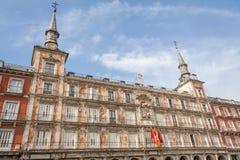 Alloggi il forno in sindaco della plaza di Madrid, Spagna Immagini Stock