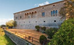 Alloggi il museo del figlio Marroig in Deia, Mallorca, Spagna Fotografia Stock Libera da Diritti