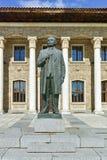 Alloggi il museo ed il monumento del capo comunista Georgi Dimitrov in villaggio di Kovachevtsi, Bulgaria Immagine Stock Libera da Diritti