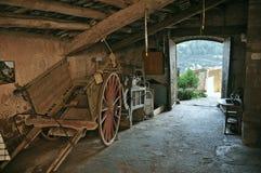 Alloggi il museo Puig del balma - Mura Immagine Stock Libera da Diritti