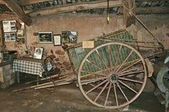 Alloggi il museo Puig del balma - Mura Fotografia Stock