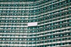 Alloggi l'impalcatura di ricostruzione Fotografie Stock Libere da Diritti