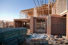 Alloggi la costruzione Fotografie Stock