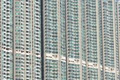 Alloggi nuovi di Hong Kong Fotografia Stock Libera da Diritti