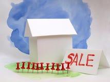 Alloggi per la vendita tre Immagine Stock Libera da Diritti