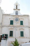 Alloggi a Polignano una giumenta in Puglia, Italia Fotografie Stock Libere da Diritti