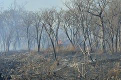 Alloggi su fuoco 1 Fotografia Stock Libera da Diritti