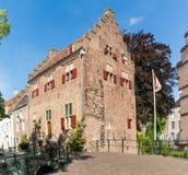 Alloggi Tinnenburg in vecchia città di Amersfoort, Paesi Bassi Fotografie Stock Libere da Diritti