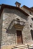 Alloggi tipico della città storica di Gubbio Immagini Stock