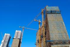 Alloggia in costruzione Fotografia Stock Libera da Diritti