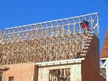 Alloggia in costruzione Fotografie Stock
