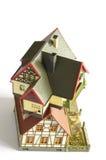 alloggia il giocattolo di modello miniatura 4 Fotografie Stock Libere da Diritti