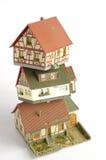 Alloggia il giocattolo di modello miniatura 5 Fotografia Stock Libera da Diritti
