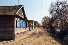 alloggia il villaggio Fotografia Stock Libera da Diritti