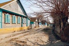 alloggia il villaggio Fotografia Stock