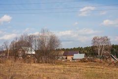 alloggia il villaggio Fotografie Stock