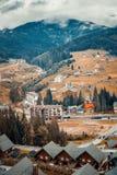 Alloggia le montagne Fotografie Stock