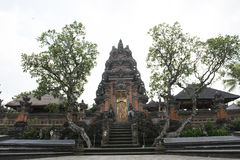 Alloggia le tempie in Ubud, Bali Fotografia Stock Libera da Diritti