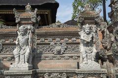 Alloggia le tempie in Ubud, Bali Immagine Stock