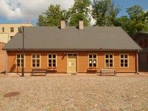 Alloggia lo stabilimento di vecchia Lodz Fotografie Stock