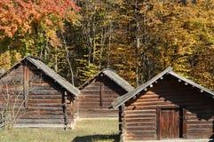 alloggia piccolo di legno Fotografia Stock