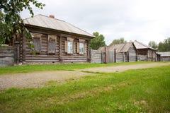alloggia vecchio di legno Fotografia Stock