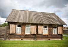 alloggia vecchio di legno Fotografie Stock