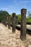 Alloggiamenti del Consiglio del re, Polonnaruwa, Sri Lanka Fotografie Stock Libere da Diritti