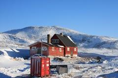 Alloggiamento artico, Ilimanaq, Groenlandia Immagine Stock Libera da Diritti