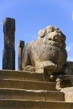 Alloggiamento del Consiglio, Polonnaruwa, Sri Lanka Fotografia Stock