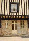 Alloggiamento del legname. Fougères, Brittany, Francia Fotografie Stock Libere da Diritti