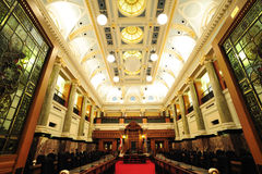 Alloggiamento della costruzione del Parlamento Fotografie Stock Libere da Diritti