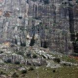 Alloggiamento della parete della roccia Immagini Stock Libere da Diritti