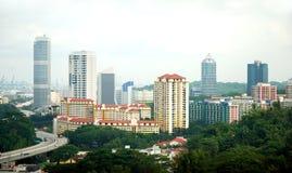Alloggiamento della proprietà di Singapore Fotografie Stock